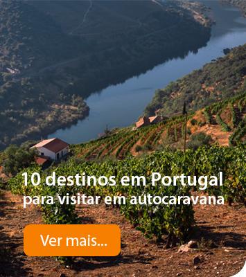 Destinos em Portugal para viajar de Autocaravana